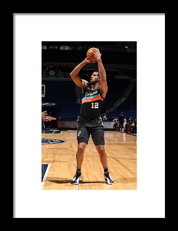 Nba Pro Basketball Framed Print featuring the photograph Lamarcus Aldridge by David Sherman