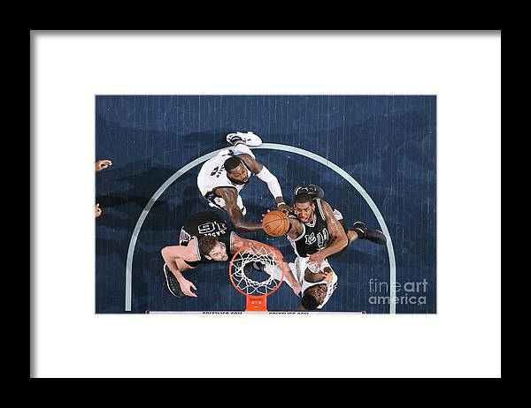 Playoffs Framed Print featuring the photograph Lamarcus Aldridge by Joe Murphy