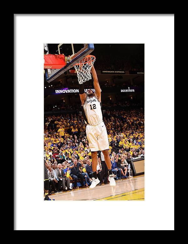 Playoffs Framed Print featuring the photograph Lamarcus Aldridge by Noah Graham