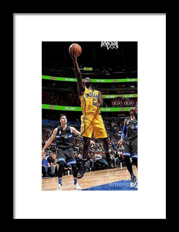 Nba Pro Basketball Framed Print featuring the photograph Lance Stephenson by Fernando Medina