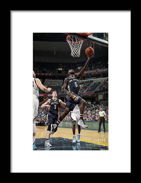 Nba Pro Basketball Framed Print featuring the photograph Lance Stephenson by Joe Murphy