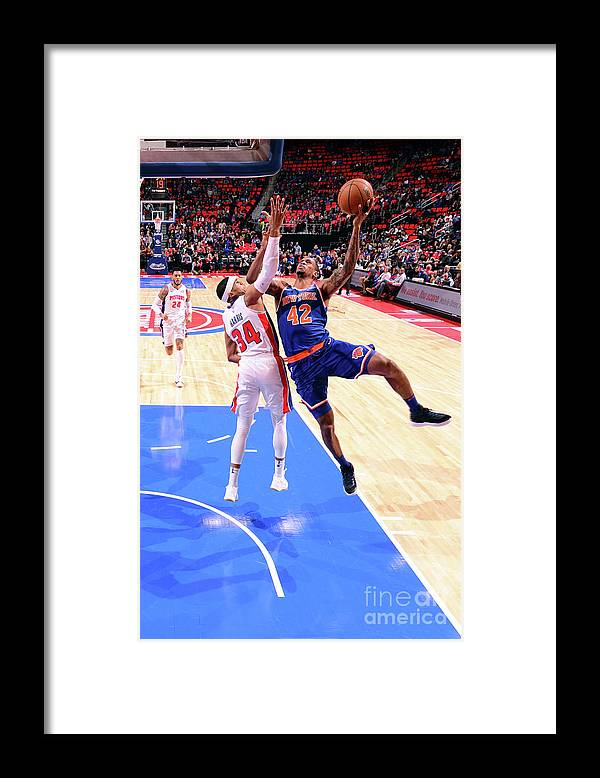 Nba Pro Basketball Framed Print featuring the photograph Lance Thomas by Chris Schwegler