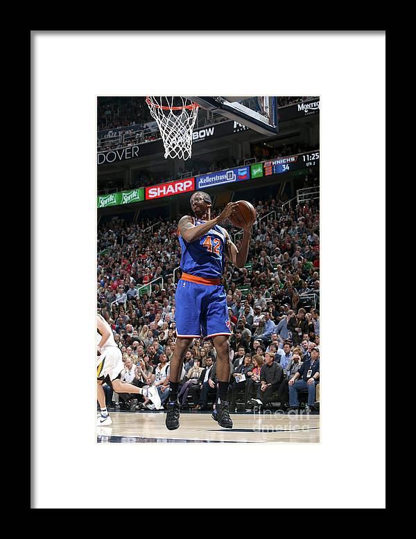 Nba Pro Basketball Framed Print featuring the photograph Lance Thomas by Melissa Majchrzak
