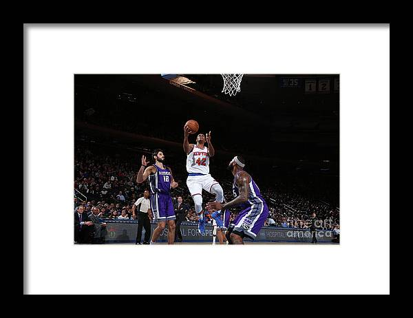Nba Pro Basketball Framed Print featuring the photograph Lance Thomas by Nathaniel S. Butler
