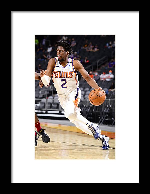 Nba Pro Basketball Framed Print featuring the photograph Langston Galloway by Barry Gossage