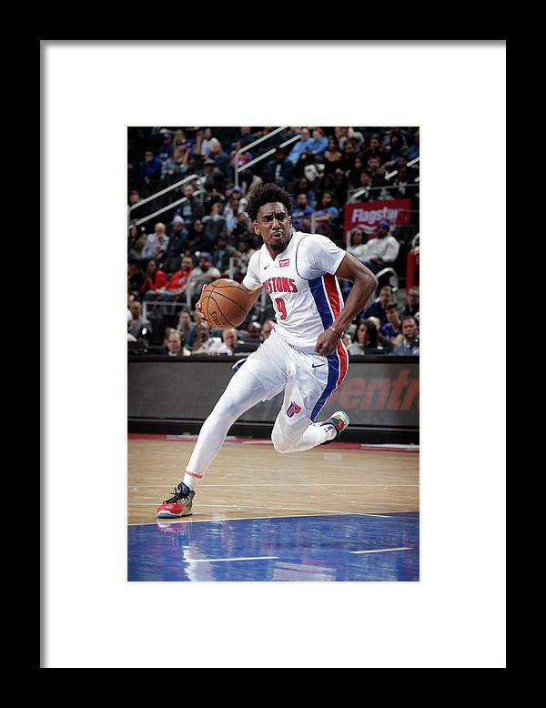 Nba Pro Basketball Framed Print featuring the photograph Langston Galloway by Brian Sevald