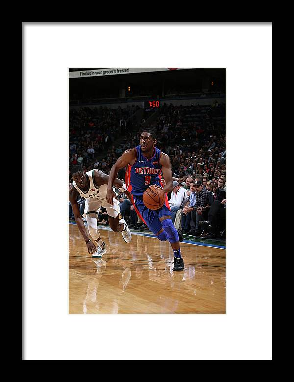 Nba Pro Basketball Framed Print featuring the photograph Langston Galloway by Gary Dineen
