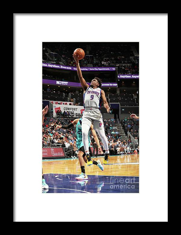 Nba Pro Basketball Framed Print featuring the photograph Langston Galloway by Kent Smith