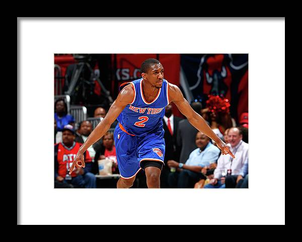 Atlanta Framed Print featuring the photograph Langston Galloway by Kevin C. Cox