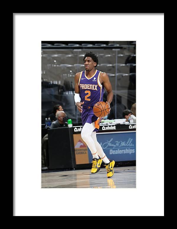Nba Pro Basketball Framed Print featuring the photograph Langston Galloway by Melissa Majchrzak