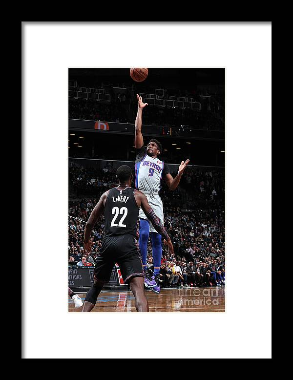 Nba Pro Basketball Framed Print featuring the photograph Langston Galloway by Nathaniel S. Butler