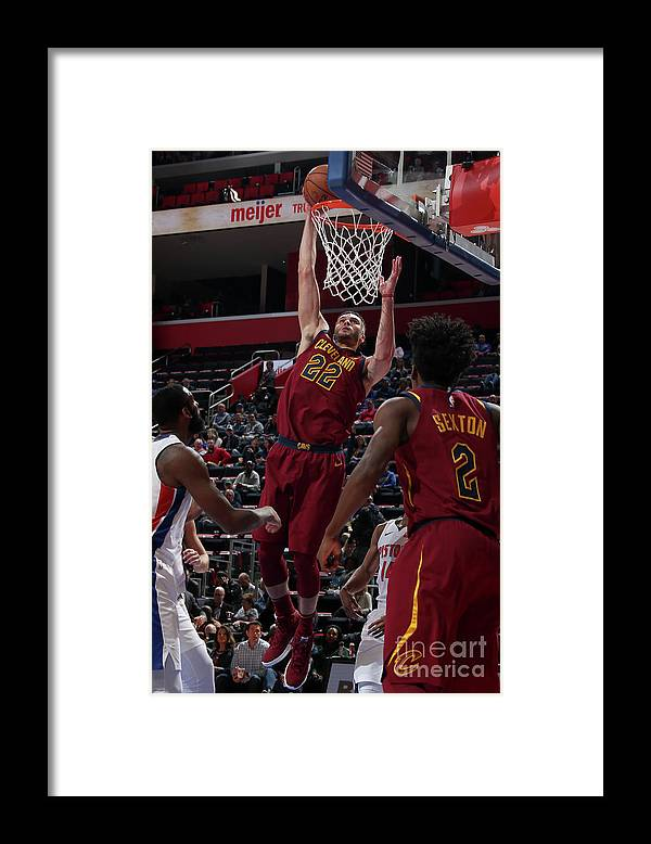 Nba Pro Basketball Framed Print featuring the photograph Larry Nance by Brian Sevald