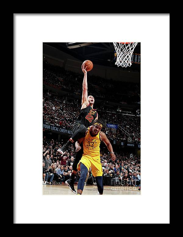 Playoffs Framed Print featuring the photograph Larry Nance by Nathaniel S. Butler