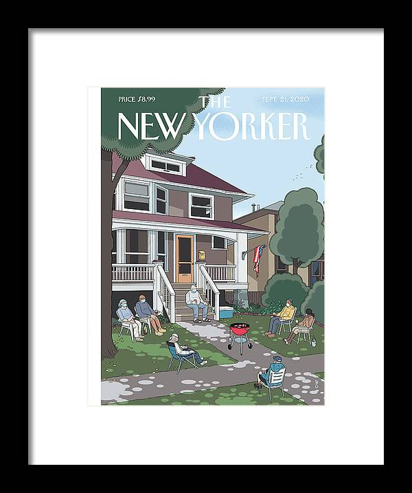Summer Framed Print featuring the painting Last Days by Chris Ware