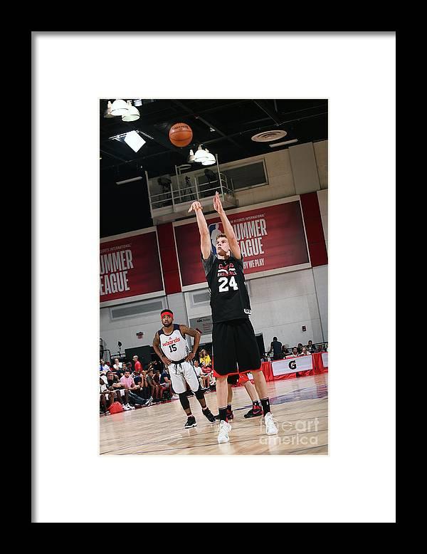 Chicago Bulls Framed Print featuring the photograph Lauri Markkanen by Noah Graham
