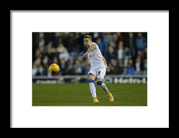 England Framed Print featuring the photograph Leeds United v Charlton Athletic - Sky Bet Championship by Gareth Copley