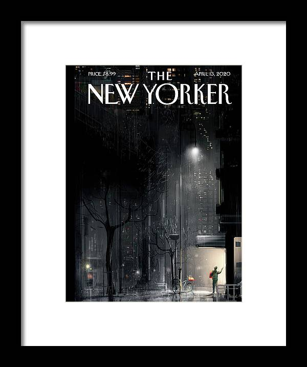 Lifeline Framed Print featuring the painting Lifeline by Pascal Campion