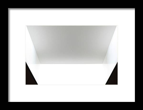 Photograph Framed Print featuring the photograph Light In A Box by Richard Wetterauer