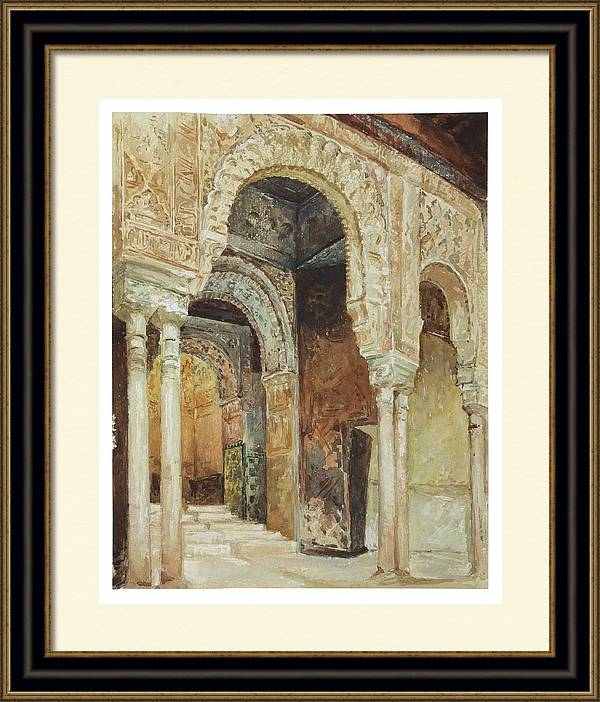 Louis Comfort Tiffany 1848  1933 The Alhambra Granada after Henri Regnault by Artistic Rifki