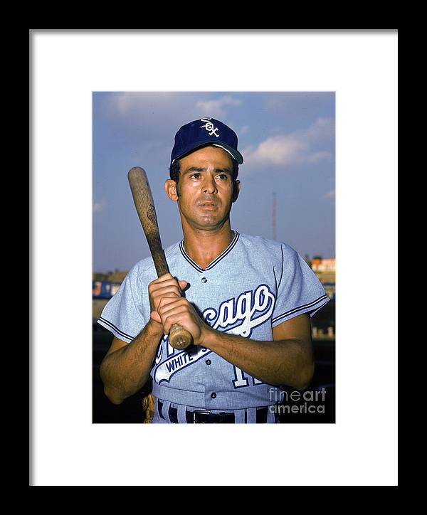 People Framed Print featuring the photograph Luis Aparicio by Louis Requena