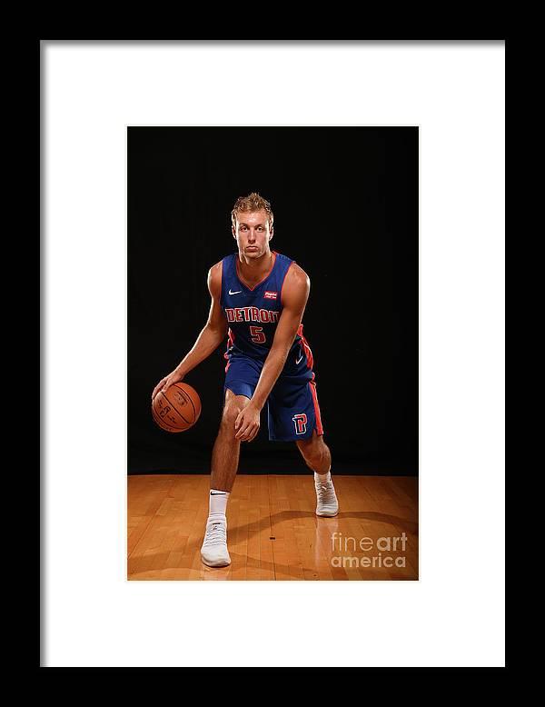 Nba Pro Basketball Framed Print featuring the photograph Luke Kennard by Brian Babineau