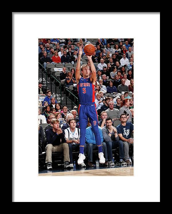 Nba Pro Basketball Framed Print featuring the photograph Luke Kennard by Danny Bollinger