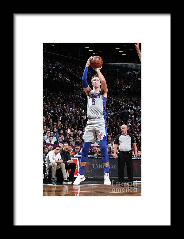 Nba Pro Basketball Framed Print featuring the photograph Luke Kennard by Nathaniel S. Butler