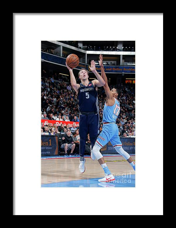 Nba Pro Basketball Framed Print featuring the photograph Luke Kennard by Rocky Widner