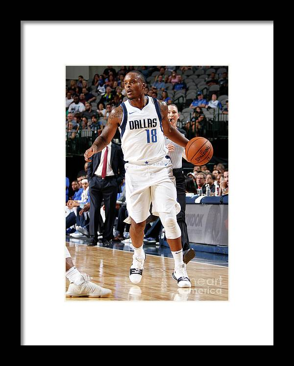 Nba Pro Basketball Framed Print featuring the photograph Maalik Wayns by Danny Bollinger