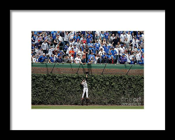 People Framed Print featuring the photograph Mac Williamson and Kris Bryant by Jon Durr