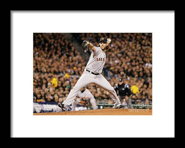 Pnc Park Framed Print featuring the photograph Madison Bumgarner by Justin K. Aller