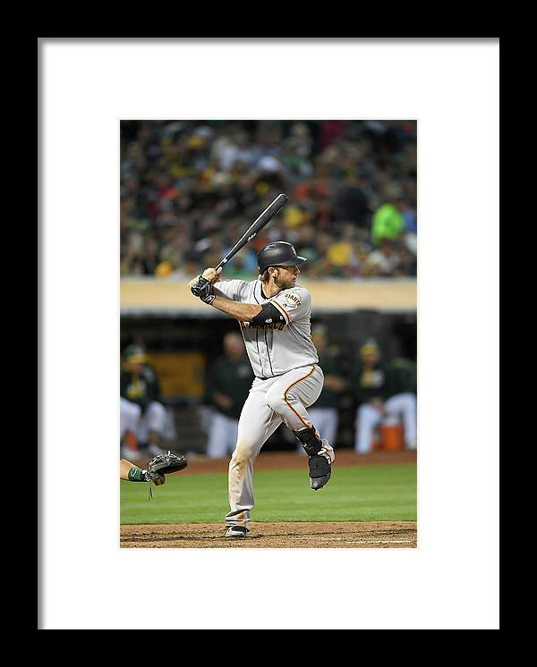 People Framed Print featuring the photograph Madison Bumgarner by Thearon W. Henderson