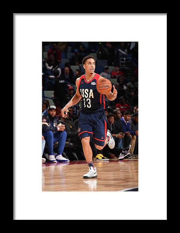 Event Framed Print featuring the photograph Malcolm Brogdon by Andrew D. Bernstein