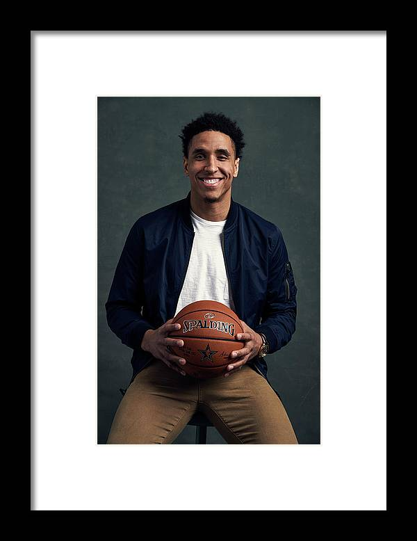 Event Framed Print featuring the photograph Malcolm Brogdon by Jennifer Pottheiser