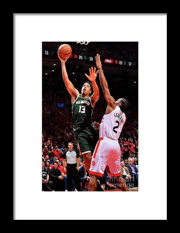 Playoffs Framed Print featuring the photograph Malcolm Brogdon by Jesse D. Garrabrant