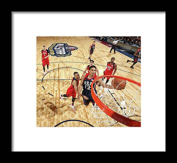Event Framed Print featuring the photograph Malcolm Brogdon by Nathaniel S. Butler