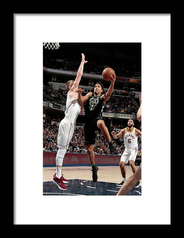 Nba Pro Basketball Framed Print featuring the photograph Malcolm Brogdon by Ron Hoskins