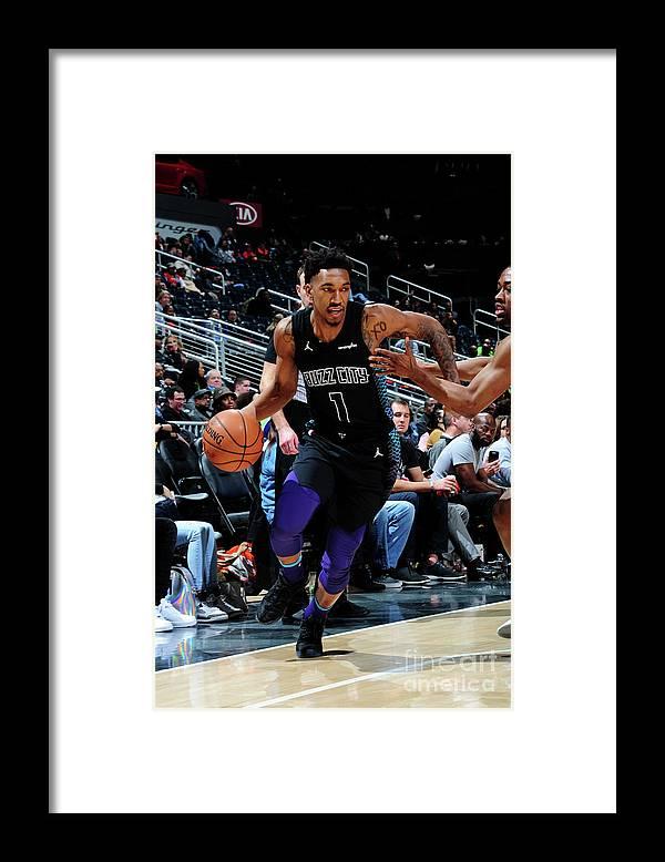 Atlanta Framed Print featuring the photograph Malik Monk by Scott Cunningham