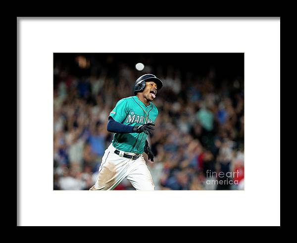Three Quarter Length Framed Print featuring the photograph Mallex Smith by Lindsey Wasson