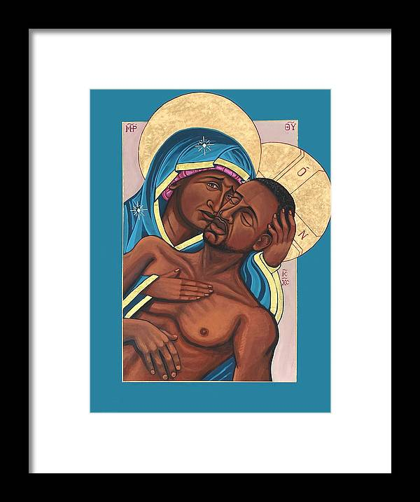Framed Print featuring the painting Mama by Kelly Latimore