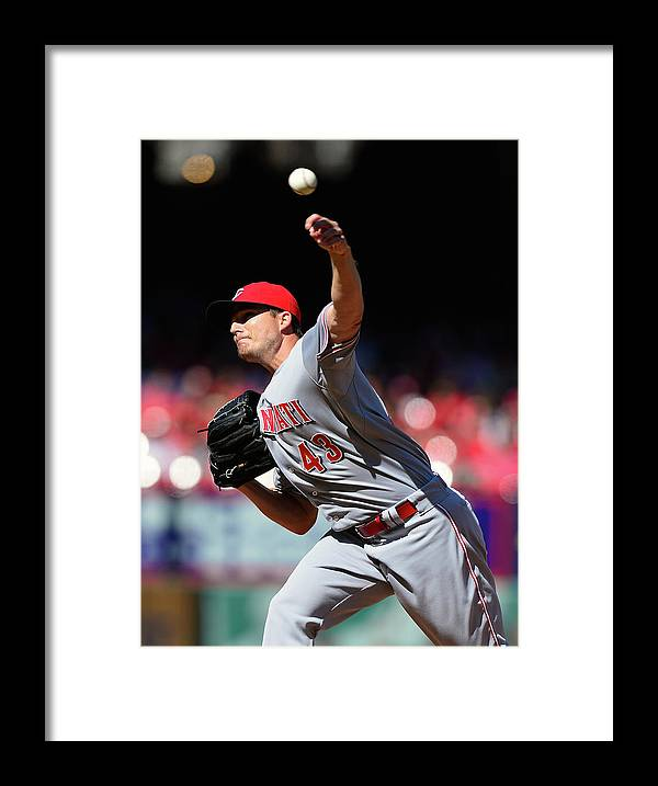 Ninth Inning Framed Print featuring the photograph Manny Parra by Jeff Curry
