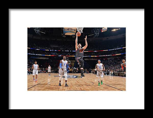 Event Framed Print featuring the photograph Marc Gasol by Jesse D. Garrabrant
