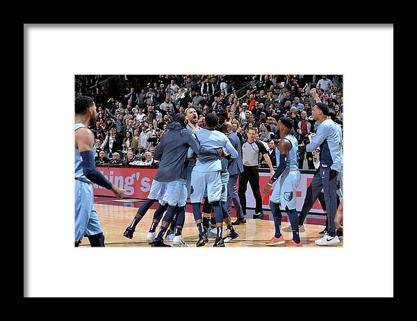Nba Pro Basketball Framed Print featuring the photograph Marc Gasol by Mark Sobhani