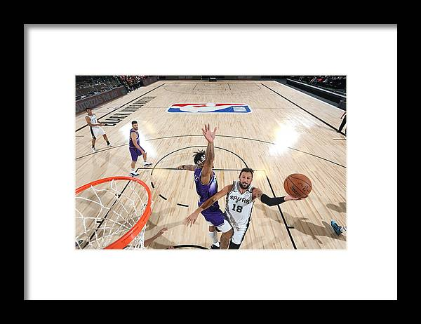 Nba Pro Basketball Framed Print featuring the photograph Marco Belinelli by David Dow