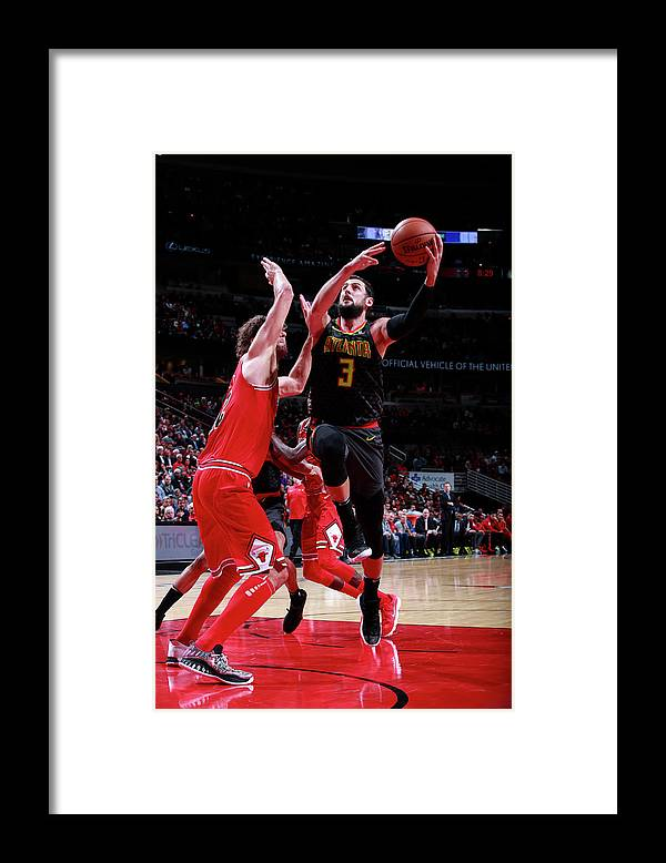 Nba Pro Basketball Framed Print featuring the photograph Marco Belinelli by Jeff Haynes