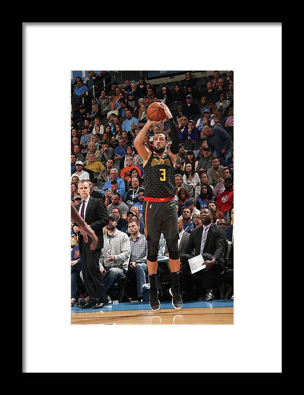 Nba Pro Basketball Framed Print featuring the photograph Marco Belinelli by Layne Murdoch