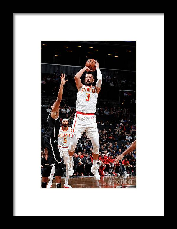 Nba Pro Basketball Framed Print featuring the photograph Marco Belinelli by Nathaniel S. Butler