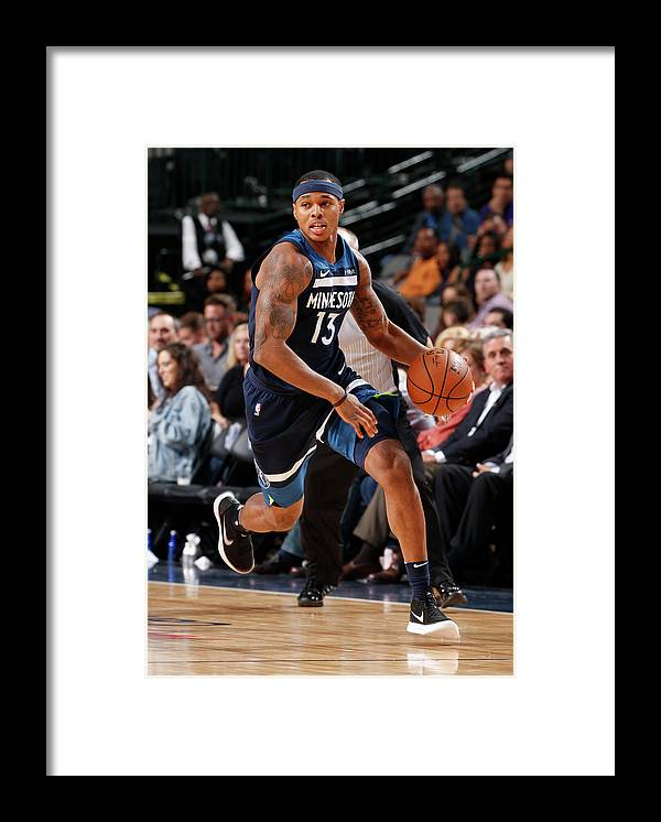 Nba Pro Basketball Framed Print featuring the photograph Marcus Georges-hunt by Glenn James
