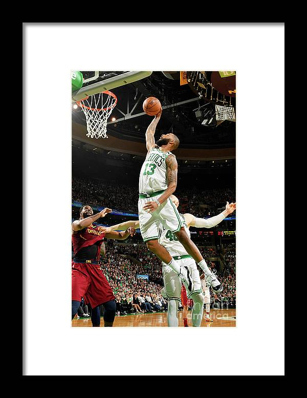 Playoffs Framed Print featuring the photograph Marcus Morris by Jesse D. Garrabrant