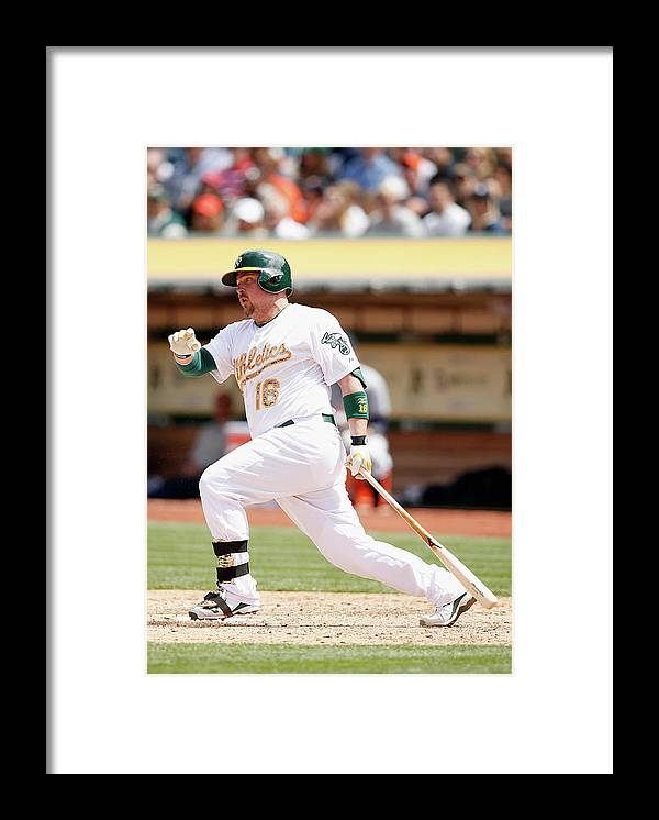 People Framed Print featuring the photograph Marcus Semien and Billy Butler by Ezra Shaw